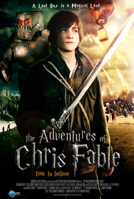 Poster Adventueres of Chris Fable